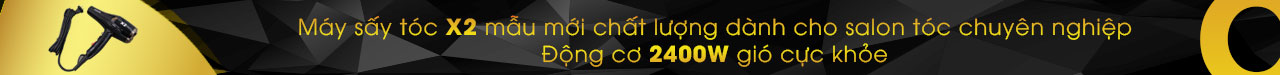 Banner may say toc x2 mau moi chat luong danh cho salon toc chuyen nghiep